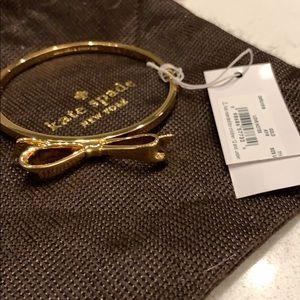 Kate spade gold bow bracelet